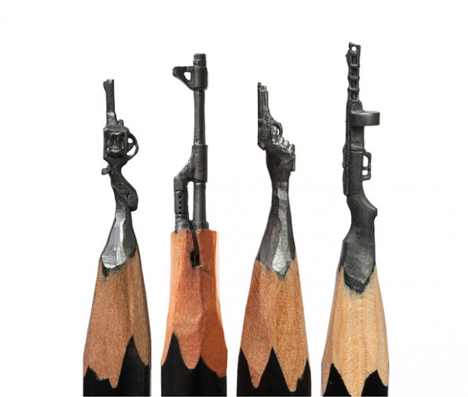 میکرو آرت و طراحی با گرافیت مداد