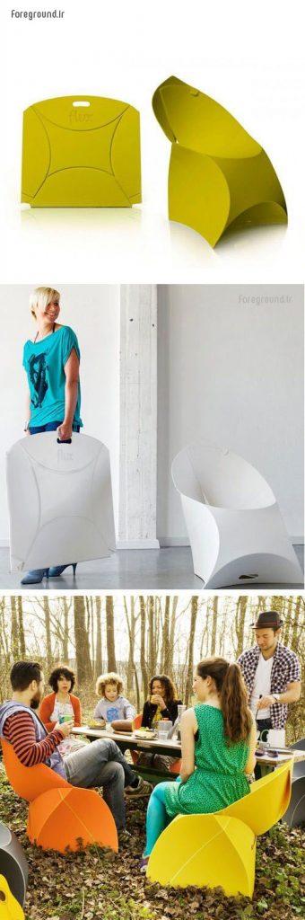 ایده نو از صندلی های متفاوت
