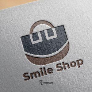 لوگو لایه باز نماد زمبیل فروشگاه
